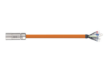 readycable® servocavo, standard Beckhoff ZK4000-2112-xxxx, cavo base PUR 10 x d