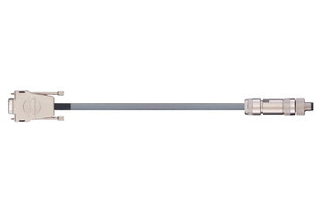readycable® cavo encoder, Festo KDI-MC-M8-SUB-9-xxx, cavo base PUR 10 x d