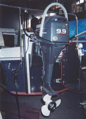 Igus Boat Motor Lifting Device